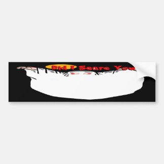 Did I Scare You? Ghost Bumper Stickers