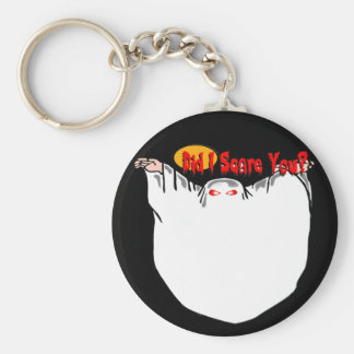 Did I Scare You? Ghost Keychain