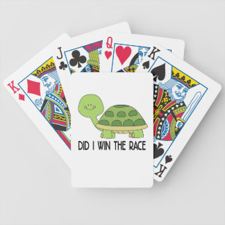 Did I Win The Race.png Bicycle Playing Cards