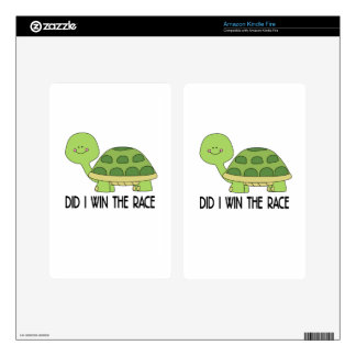 Did I Win The Race.png Decals For Kindle Fire
