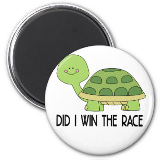 Did I Win The Race.png Magnet