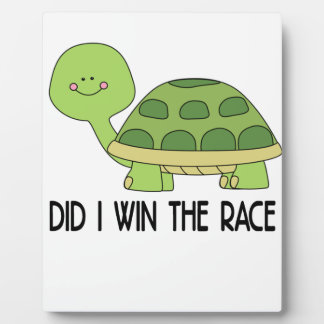 Did I Win The Race.png Plaque