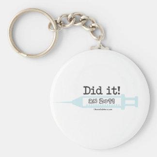 Did it! RN 2012 Nurse Graduate Keychain