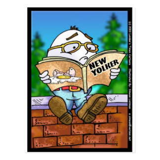 Did New Yorker Kill Humpty Dumpty? Cartoon Gifts Postcard