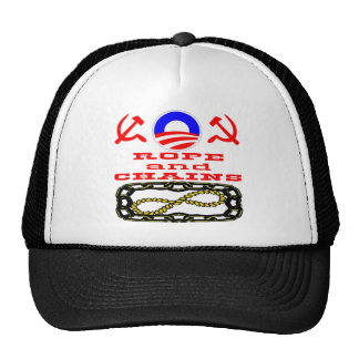 Did Obama Say Hope & Change or Rope & Chains Trucker Hat