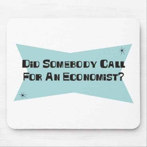 Did Somebody Call For An Economist Mouse Pad