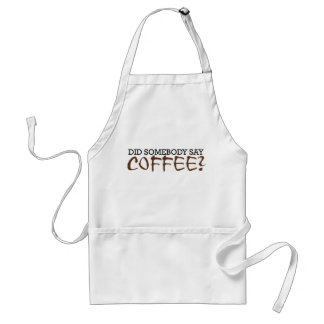 Did somebody say COFFEE? Aprons