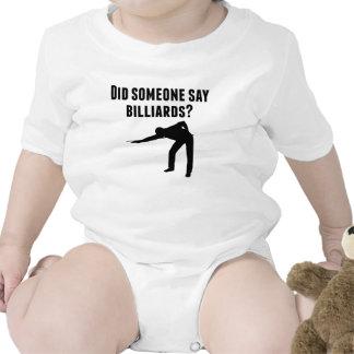 Did Someone Say Billiards Baby Creeper
