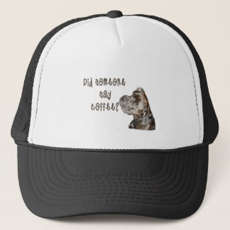 Did someone say coffee? trucker hat