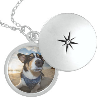Did Someone Say Cookie? Sterling Silver Necklace