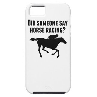 Did Someone Say Horse Racing iPhone 5 Cover