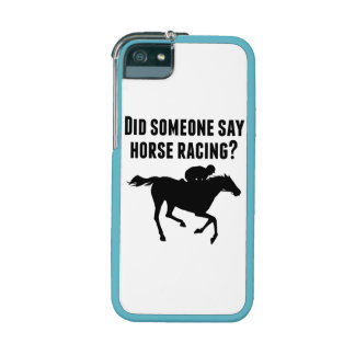 Did Someone Say Horse Racing Case For iPhone 5/5S
