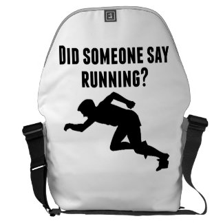 Did Someone Say Running Messenger Bags