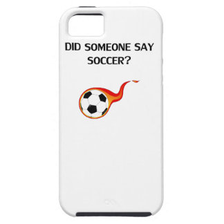 Did Someone Say Soccer? iPhone 5 Cases