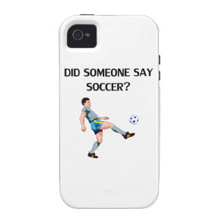 Did Someone Say Soccer? Vibe iPhone 4 Cases