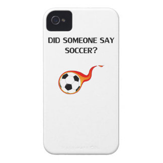 Did Someone Say Soccer? iPhone 4 Case