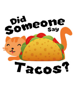 Did Someone Say Tacos Cat Lover Funny De Mayo Gift Backpack dd95bfc5e8746