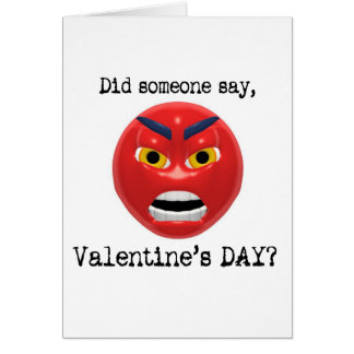 Did Someone Say Valentines Day Card