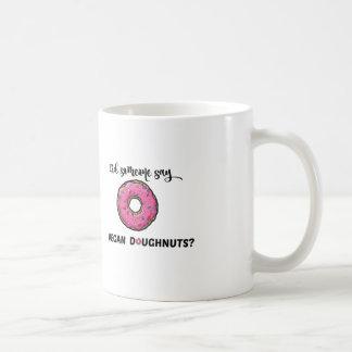 Did someone say VEGAN DOUGHNUTS mug
