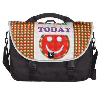 DID U SMILE S M I L E  today - ART NavinJoshi GIFT Commuter Bag