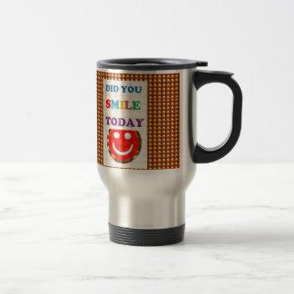 DID U SMILE S M I L E  today - ART NavinJoshi GIFT Mugs