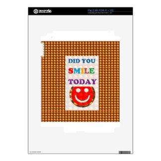 DID U SMILE S M I L E  today - ART NavinJoshi GIFT Skin For iPad 2