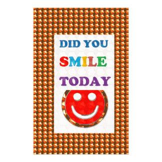 DID U SMILE S M I L E  today - ART NavinJoshi GIFT Stationery Design