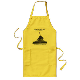 Did you forget something? long apron