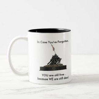 Did you forget something? Two-Tone coffee mug