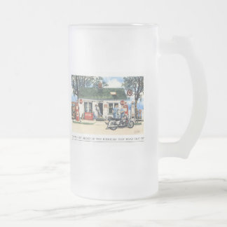 Did you get aload of the lady that rode that in ? coffee mugs