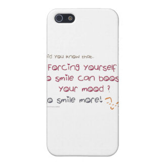 Did you know that... smile more! iPhone SE/5/5s cover