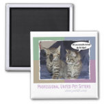 Did you remember to book the pet sitter? magnet
