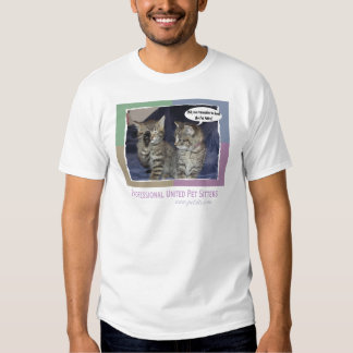 Did you remember to book the pet sitter? tee shirt