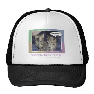 Did you remember to book the pet sitter? trucker hat