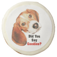 Did You Say Goodies? Beagle Sugar Cookie