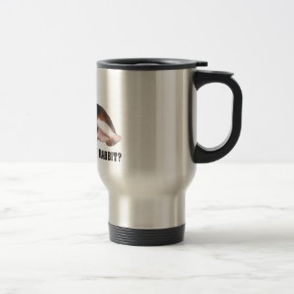 Did you Say Rabbit? Beagle Travel Mug