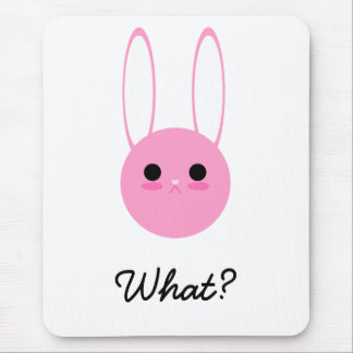 Did you say something? mouse pad