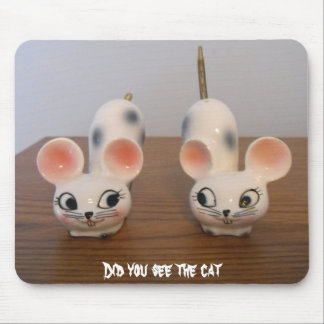 Did you see the cat mouse pad