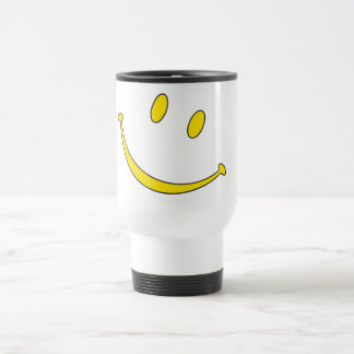 did you smile today? :) travel mug