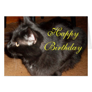 DID YOU THINK I'D FORGET? BIRTHADAY card