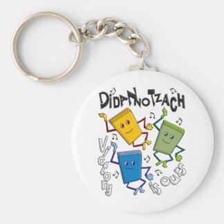 Didan Notzach Basic Round Button Keychain