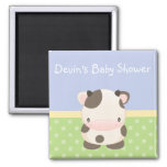 Diddles Farm Moo-Cow Baby Shower Magnet Favor B