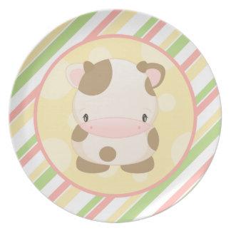 Diddles Farm Moo-Cow Plate