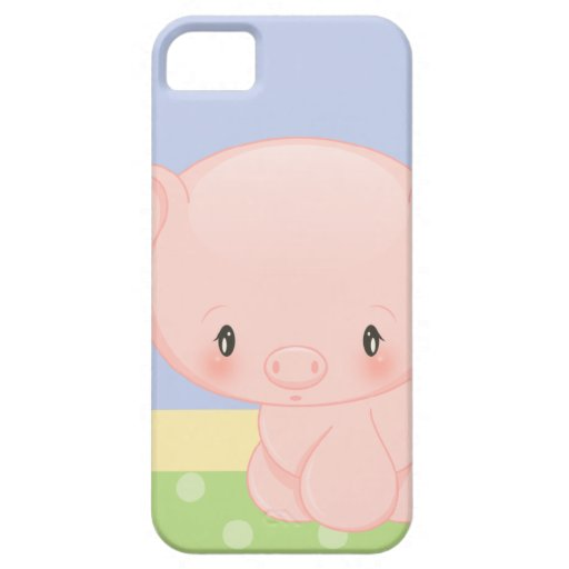 Diddles Farm Pig iPhone 5 Case-Mate iPhone 5 Covers