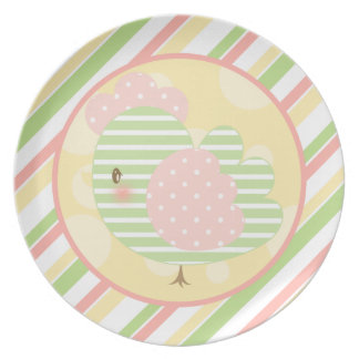 Diddles Farm Rooster Plate