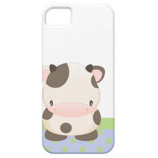 Diddles la casamata del iPhone 5 de la MOO-Vaca de iPhone 5 Carcasas