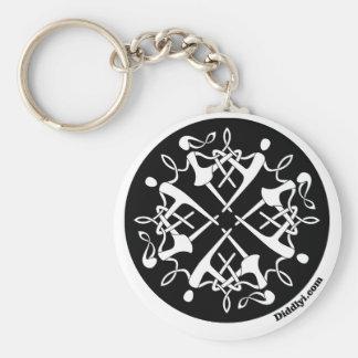 Diddlyi Celtic Keychain