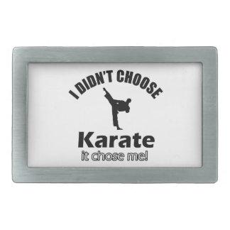 Didn t choose karate belt buckle
