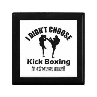 Didn t choose Kick Boxing Trinket Boxes