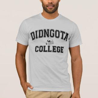Didngota College T-Shirt